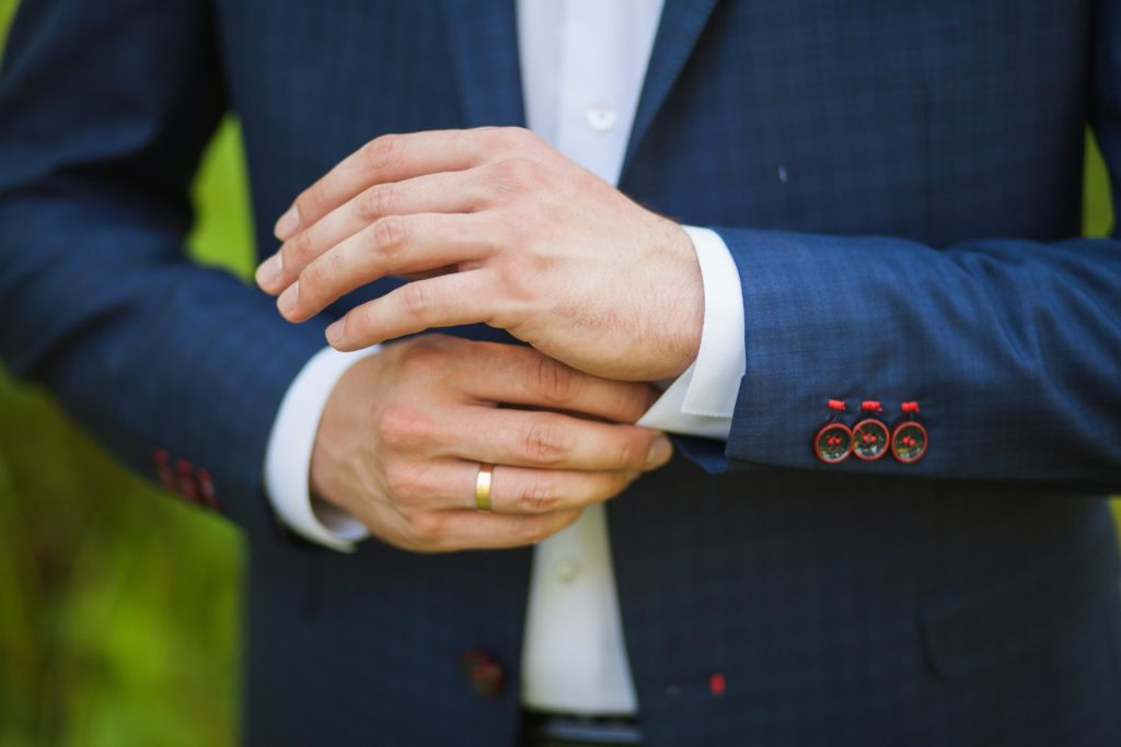 business shirt cuffs