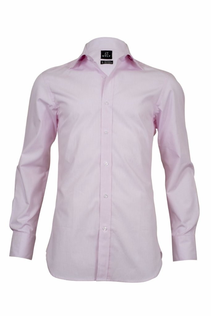 Classic Fit Pink Check Business Shirts F