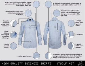 high quality business shirts